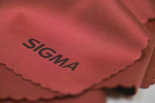 Sigma lens cloth