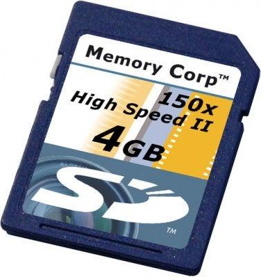 Memory Corp card