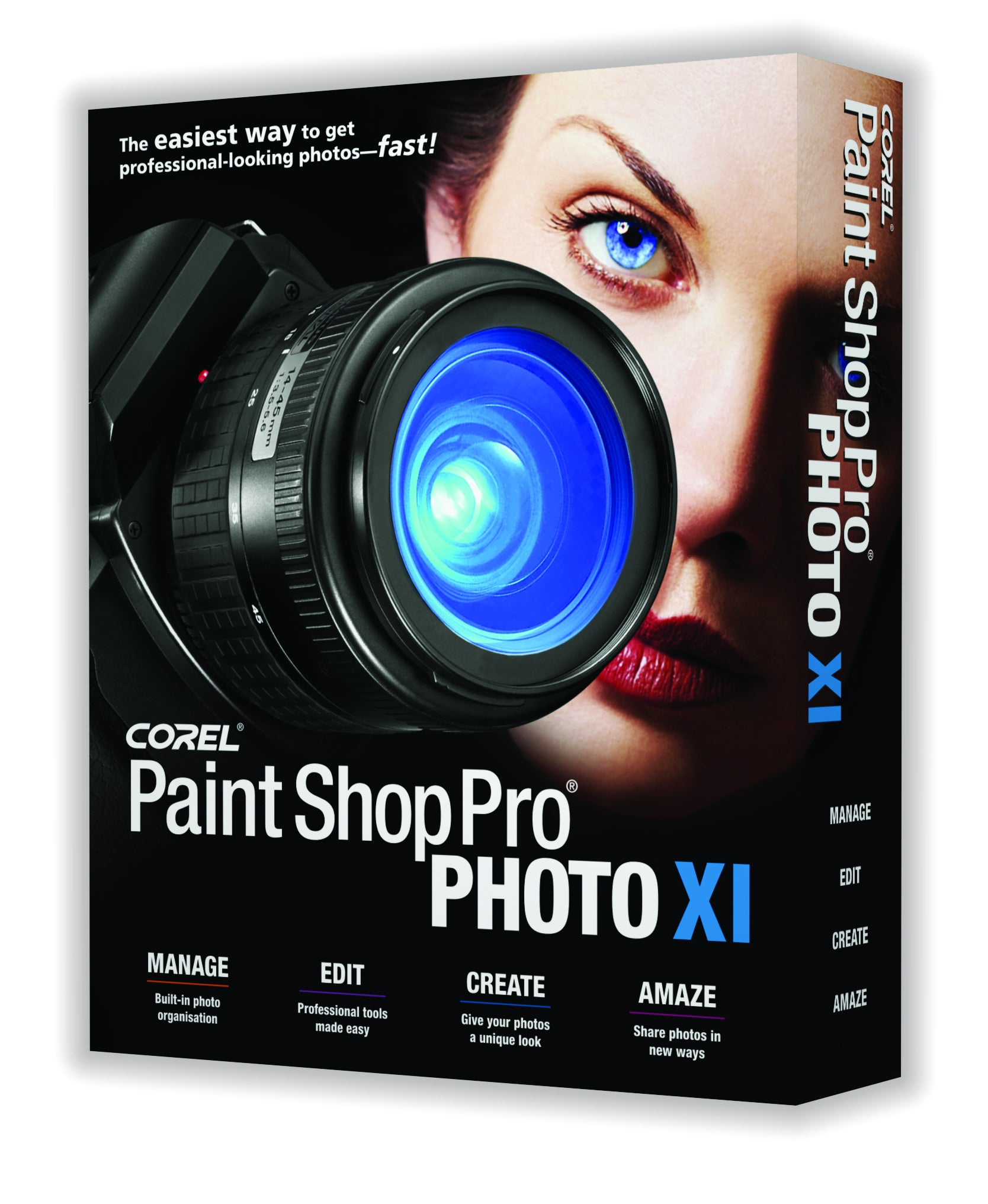 Corel paint shop pro photo xi announced what digital camera for Paint pros