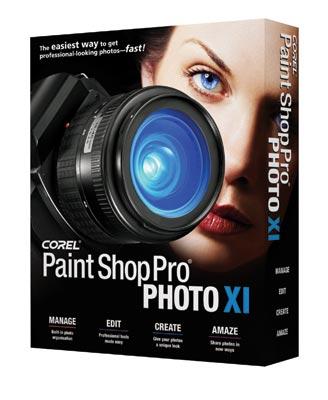 Corel Paint Shop Pro Photo XI