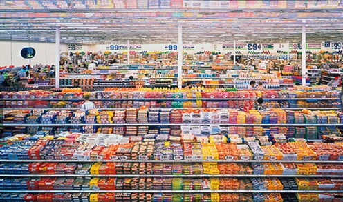 A Photographic Diptych Of An American Supermarket By Andreas Gursky Has Broken The Record For Worlds Most Expensive Photograph 99 Cent II