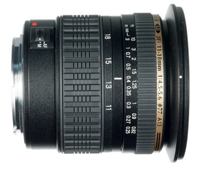 Tamron SP AF 11-18mm f/4.5 - 5.6 Di II LD Aspherical