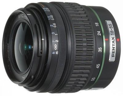Pentax DA SMC  f/3.5-5.6 18-55mm A