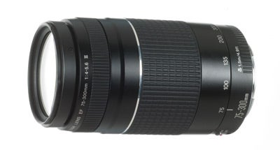 Canon EF 75-300mm f/4-5.6 III USM Camera Lens Test Review