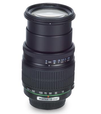 Pentax 18-250mm f/3.5-6.3 ED A