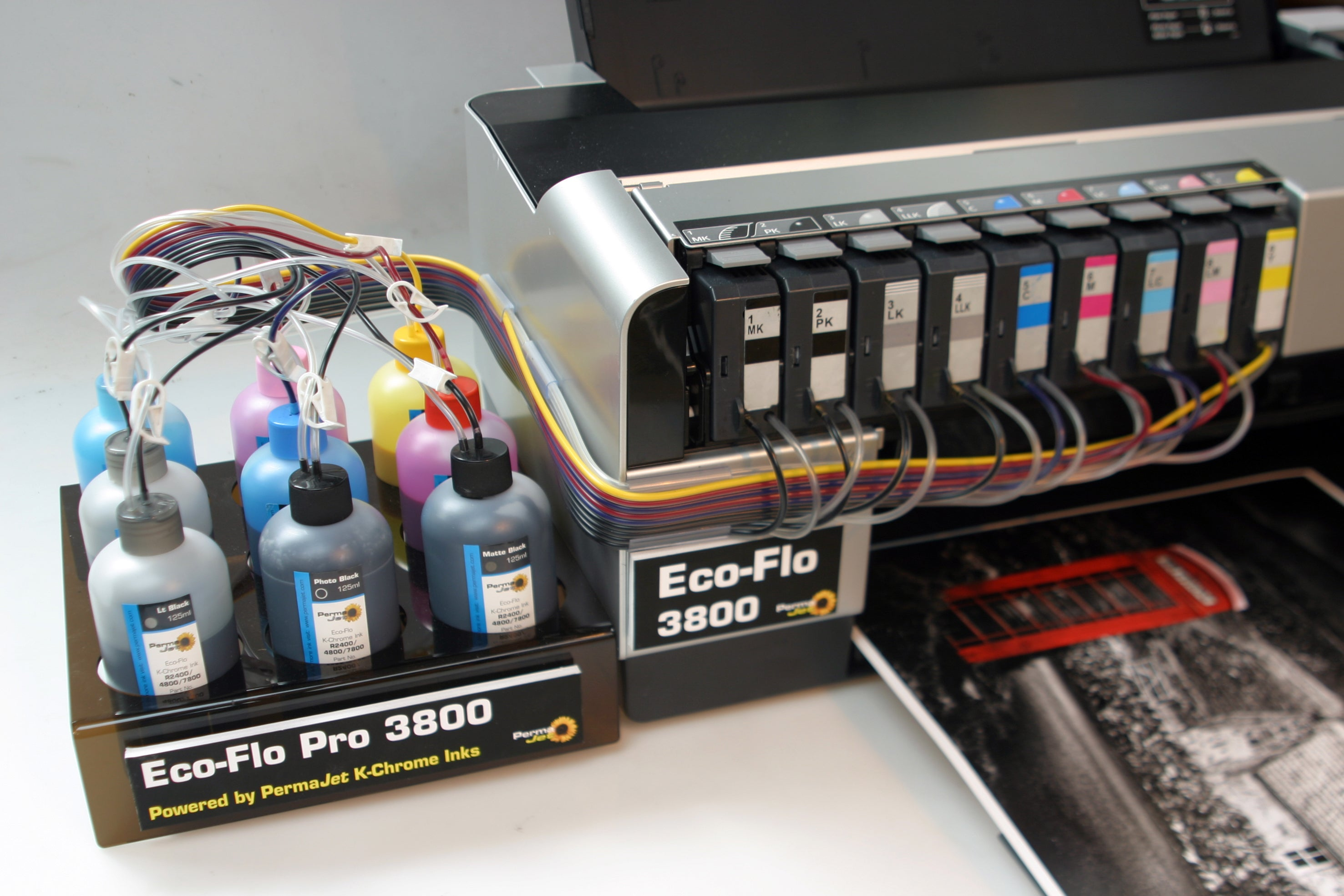 New Permajet Eco Flo Continuous Ink System For The Epson