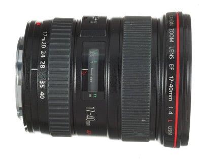 Canon 17-40mm f/4.0 L USM Camera Lens Test Review