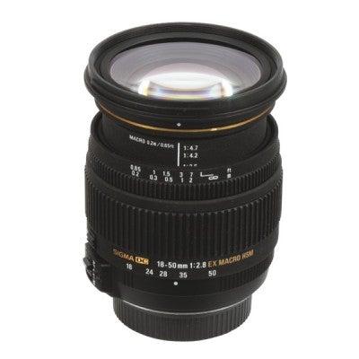Sigma 18-50mm f2.8 EX DC