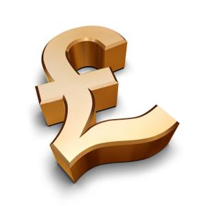 Pound Stirling sign