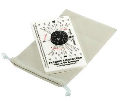 Flight Logistics Sun Position Compass