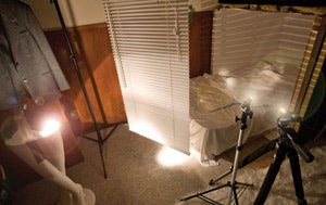 set up Light Painting