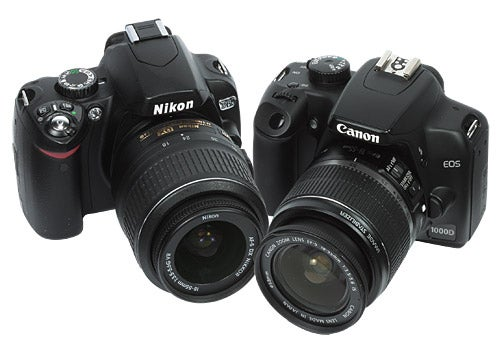 Nikon D60 vs Canon 1000D review