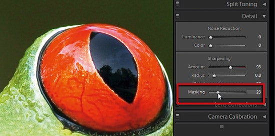 Sharpening in Adobe Camera Raw part 4