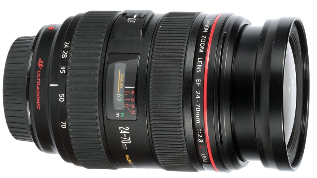 EF 24-70mm f/2.8L USM lens review product shot
