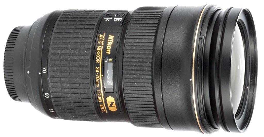 Nikon AF-S Nikkor  24-70mm f/2.8G IF ED SWM lens review product shot