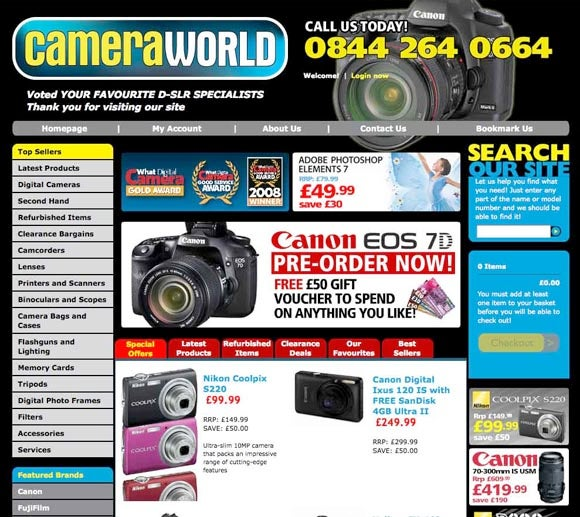CameraWorld home | News | What Digital Camera
