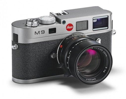 Leica M9 steel grey 3qtr | News | What Digital Camera