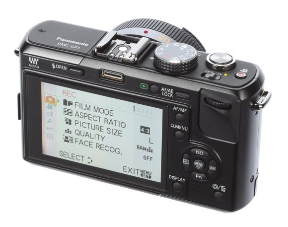 Panasonic DMC-GF1 slant | News | What Digital Camera