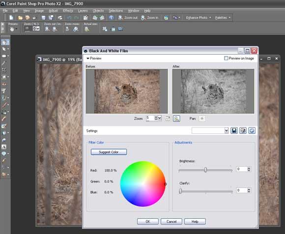 How to Shoot... Black & White - Coral Paintshop Pro