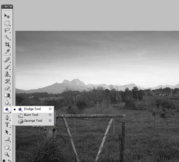 How to Shoot... Black & White - Ps Conversion Step 2