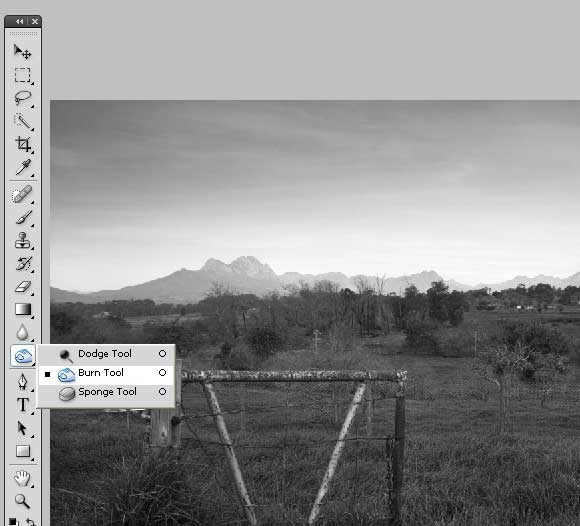 How to Shoot... Black & White - Ps Conversion Step 3