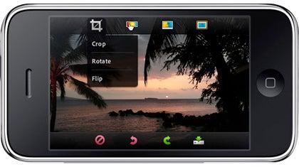 iPhone Photoshop Mobile App