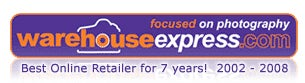 Warehouse Express logo | News | What Digital Camera