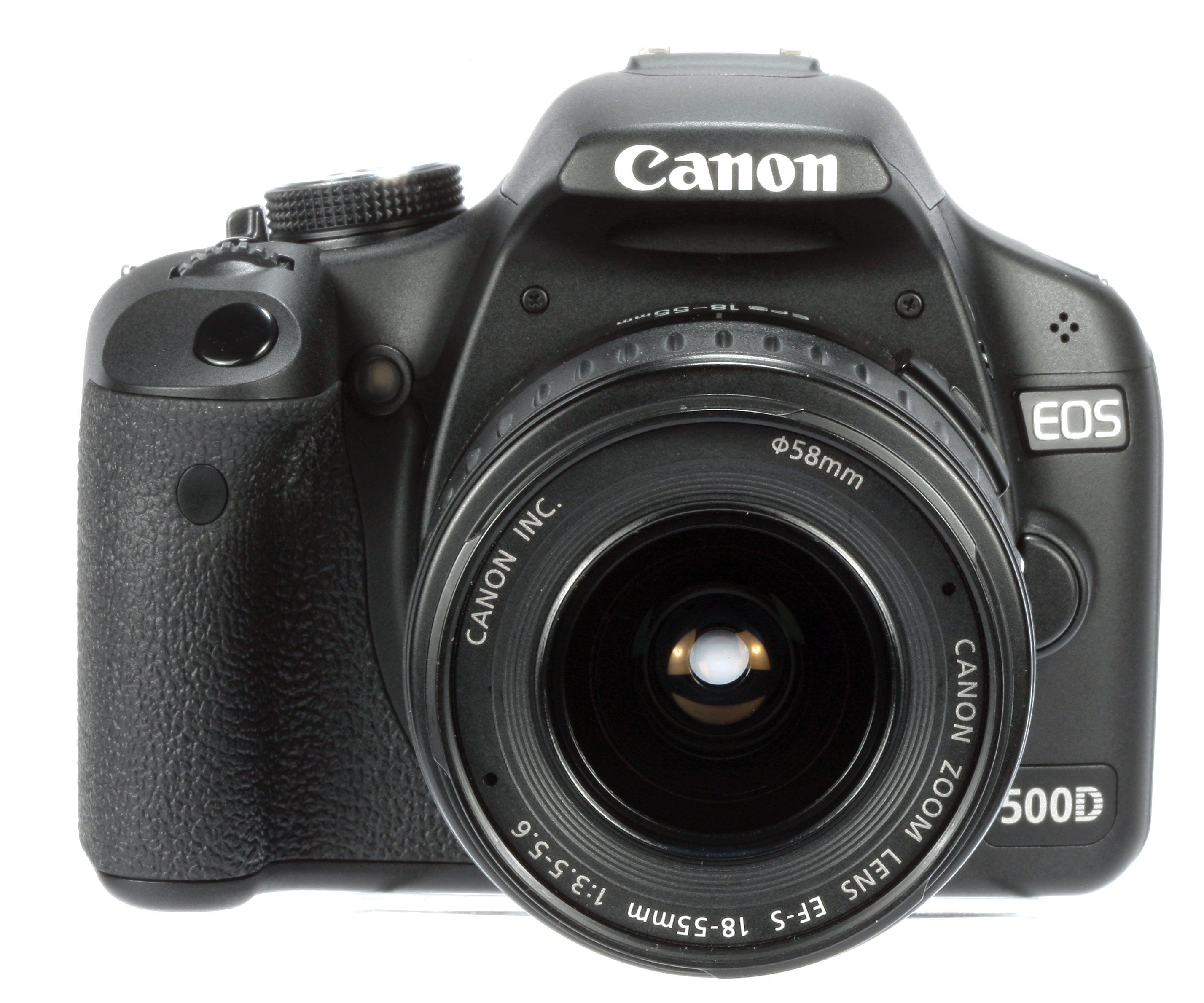 Canon 500D product shot