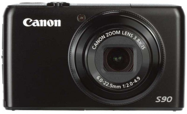 Canon Powershot S90 front