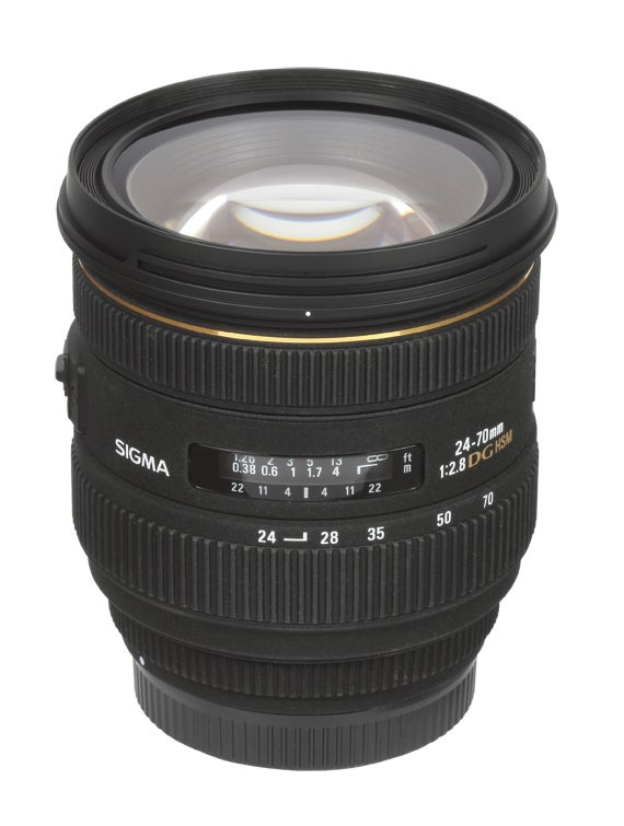 Sigma 24-70mm f/2.8 IF EX DG HSM lens review
