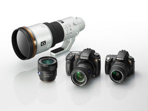 sony lenses and camera