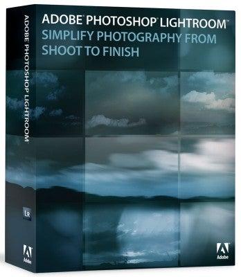 Adobe Lightroom box shot