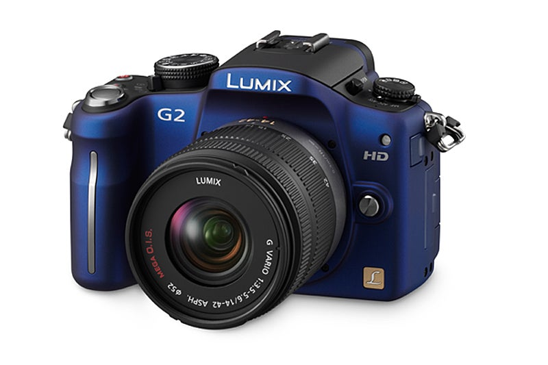 Panasonic G2 blue
