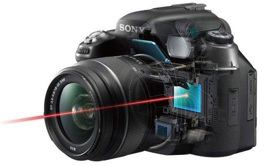 sony s live view what digital camera rh whatdigitalcamera com Digital SLR Cameras for Beginners Best Digital SLR