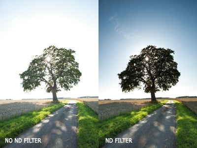 ND filter example
