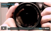 User videos of the 550d