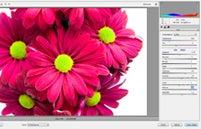 Adobe camera raw interface