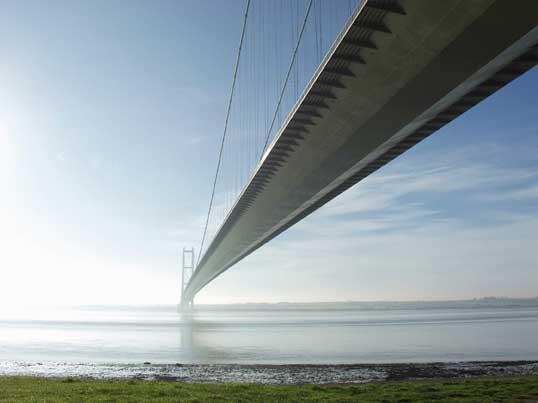 British Heritage - The Humber bridge
