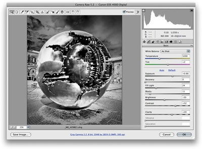 Black and white solarisation with Photoshop