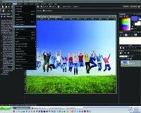 organising software Coral Paintshop Pro