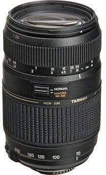 Tamron A& 70-300mm f/4-5.6 Di LD Macro