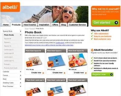 FREE Albelli photobook