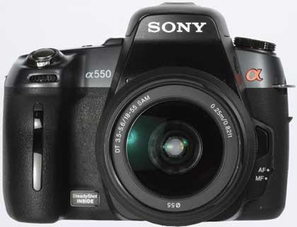 Awards 2010 - Sony Alpha A550