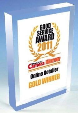 Good service awards 2011 trophy