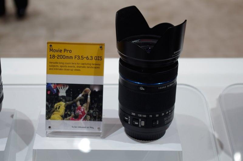 Samsung NX 18-200mm Movie Pro lens