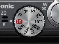 Panasonic TZ20 menu dial