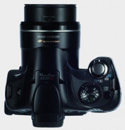Canon SX30-top