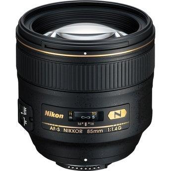 Nikon AF-S 85mm f/1.4G ED-IF VR