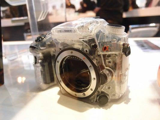 Sony Alpha A77 DSLR / SLT mock-up Focus on Imaging 2011