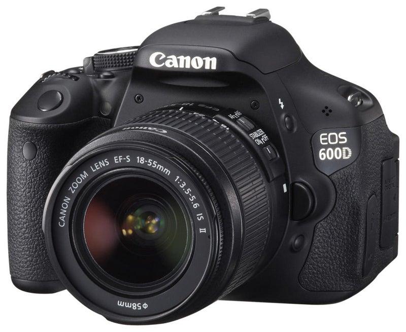 Canon EOS 600D front view